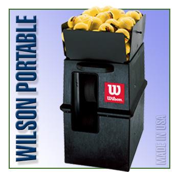 Wilson Portable Ball Machine w/Remote & 2-Line feature