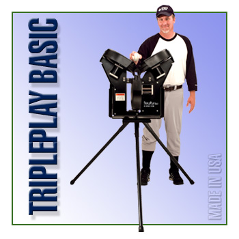 TriplePlay Basic Baseball Machine