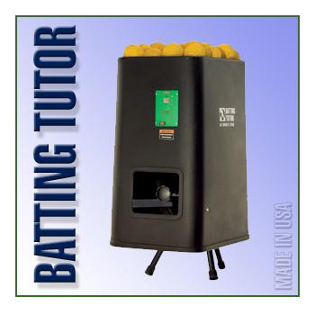 Batting Tutor Softball Machine
