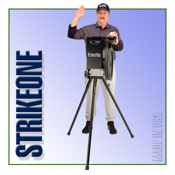 StrikeOne-Dial Baseball Machine