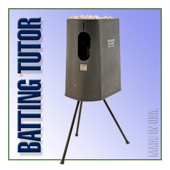 Batting Tutor Baseball Machine - Demo