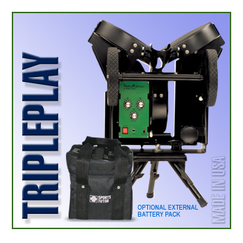 TriplePlay Basic Softball Machine