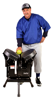 TriplePlay Plus Softball Machine